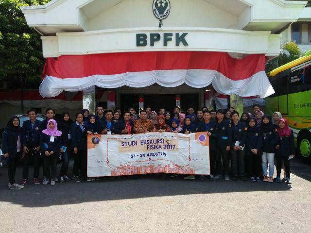 Studi Ekskursi MIPA Fisika Universitas Brawijaya Malang